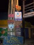 Signage in Punta del Diablo
